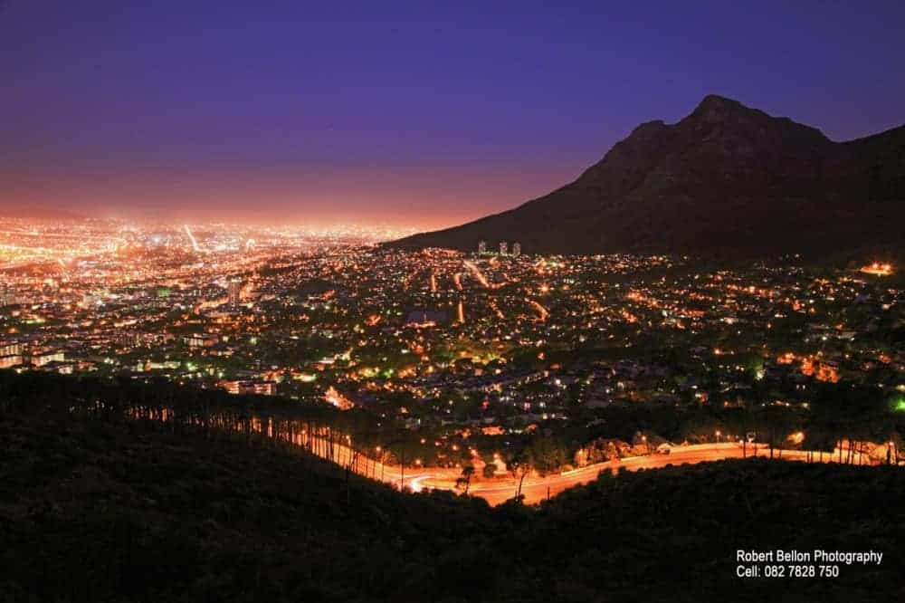 Cape town at night check out cape town at night cntravel for Outdoor photo south africa